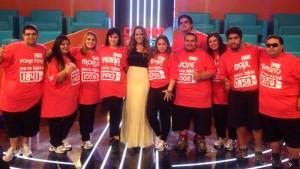 Karina Doldán celebra el éxito de Cuestión de Peso en Paraguay Foto: Facebook