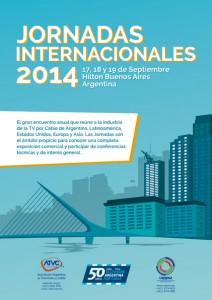 Jornadas Internacionales 2014 se llevará a cabo en Buenos Aires del 17 al 19 de Septiembre