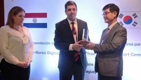 Corea donó equipos a Paraguay Tv