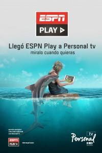 ESPN Play está disponible para usuarios de Personal TV.