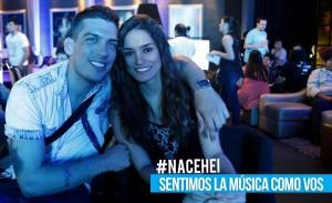 Guille Preda y Maria E. Pintos, parte de Hei Music.