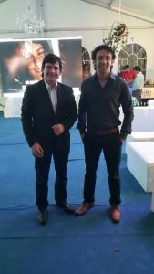 Marcos Román y Gustavo Vallejo.