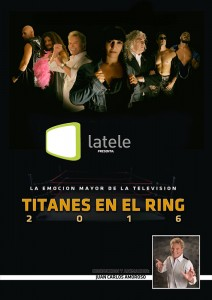 Juan Carlos Amoroso conducirá Titanes en el Ring por LaTele